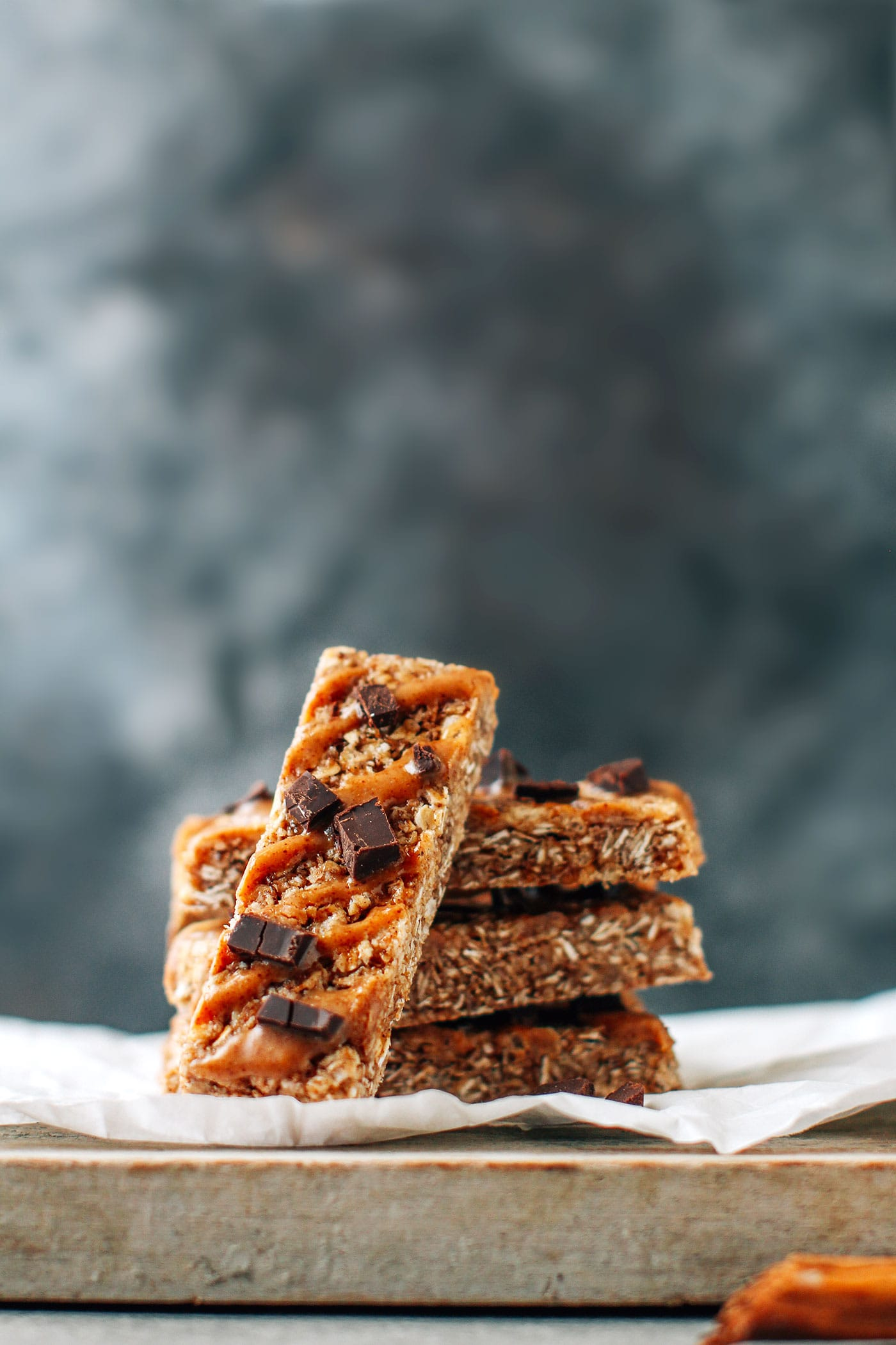 Chewy Almond Snickerdoodle Granola Bars