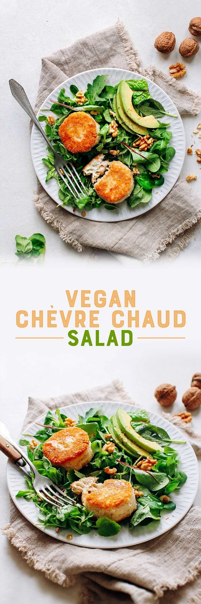 Vegan Chèvre Chaud Salad