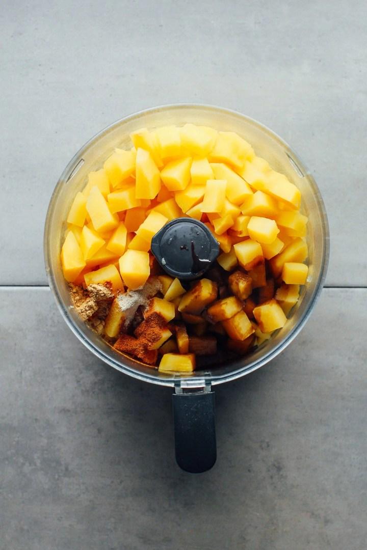 Rutabaga Gratin (Vegan Lanttulaatikko)