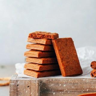 Vegan Gluten-Free Biscoff Cookies