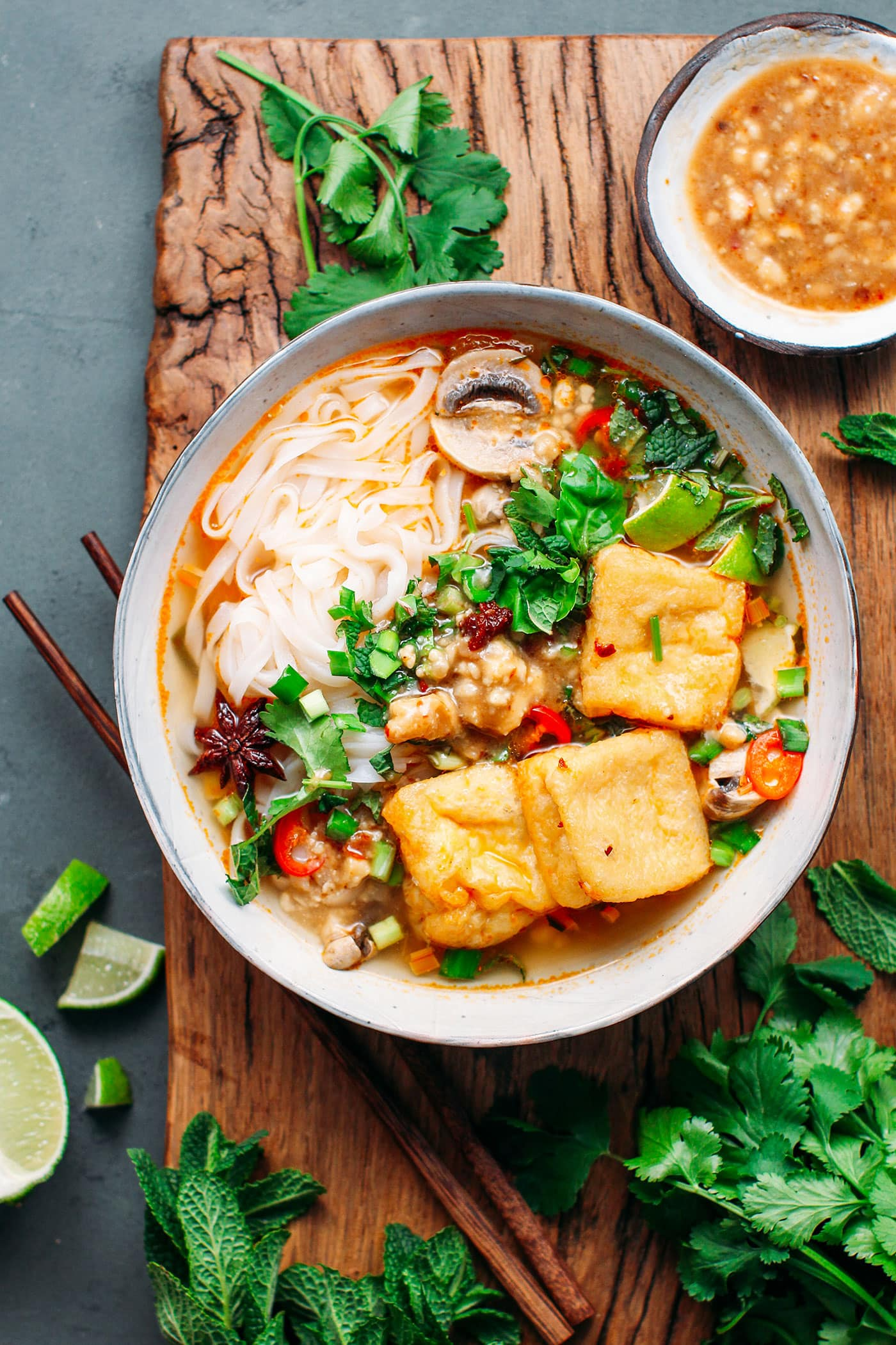 Lemongrass Soup with Fermented Tofu Sauce