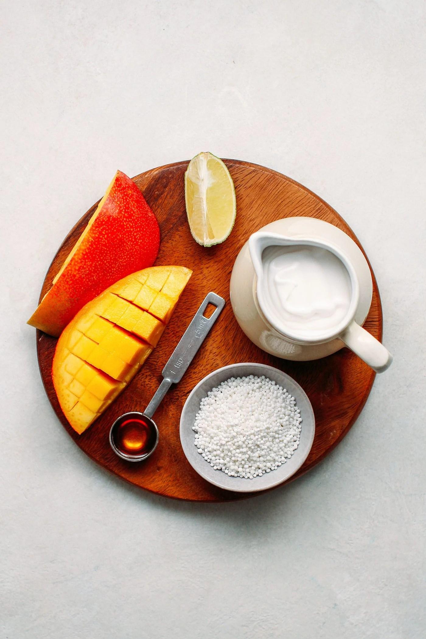 Mango & Coconut Tapioca Pearls Parfaits