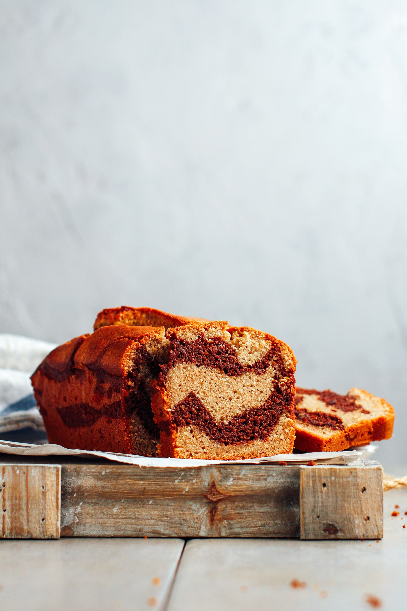 Vegan Gluten-Free Marble Cake