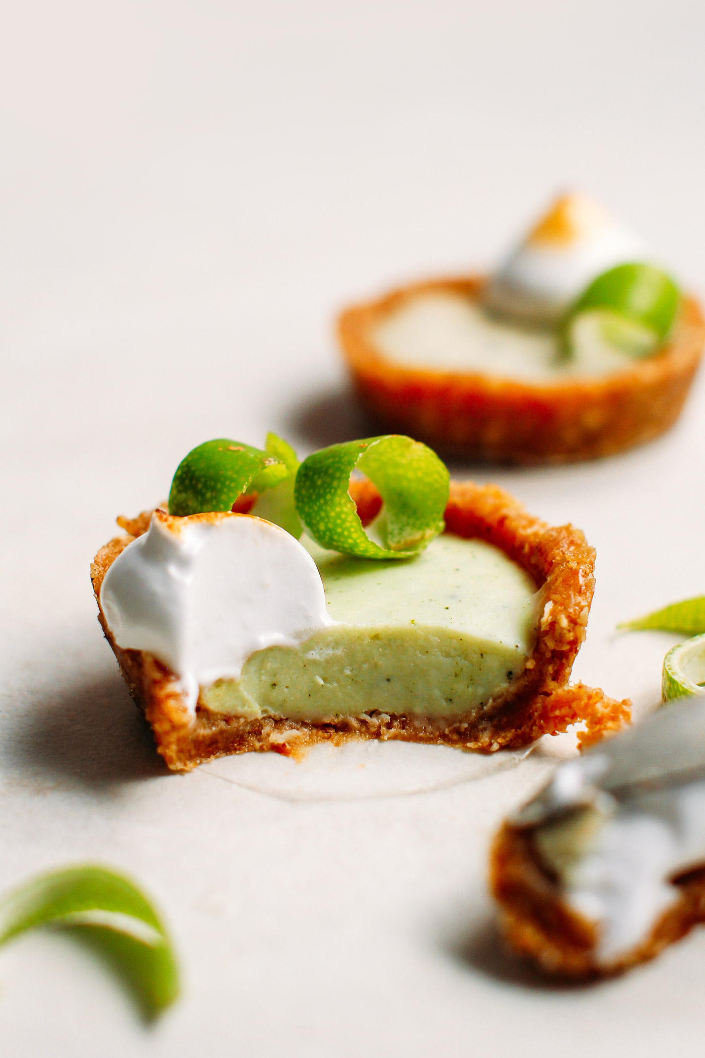 No-Bake Mini Key Lime Pies