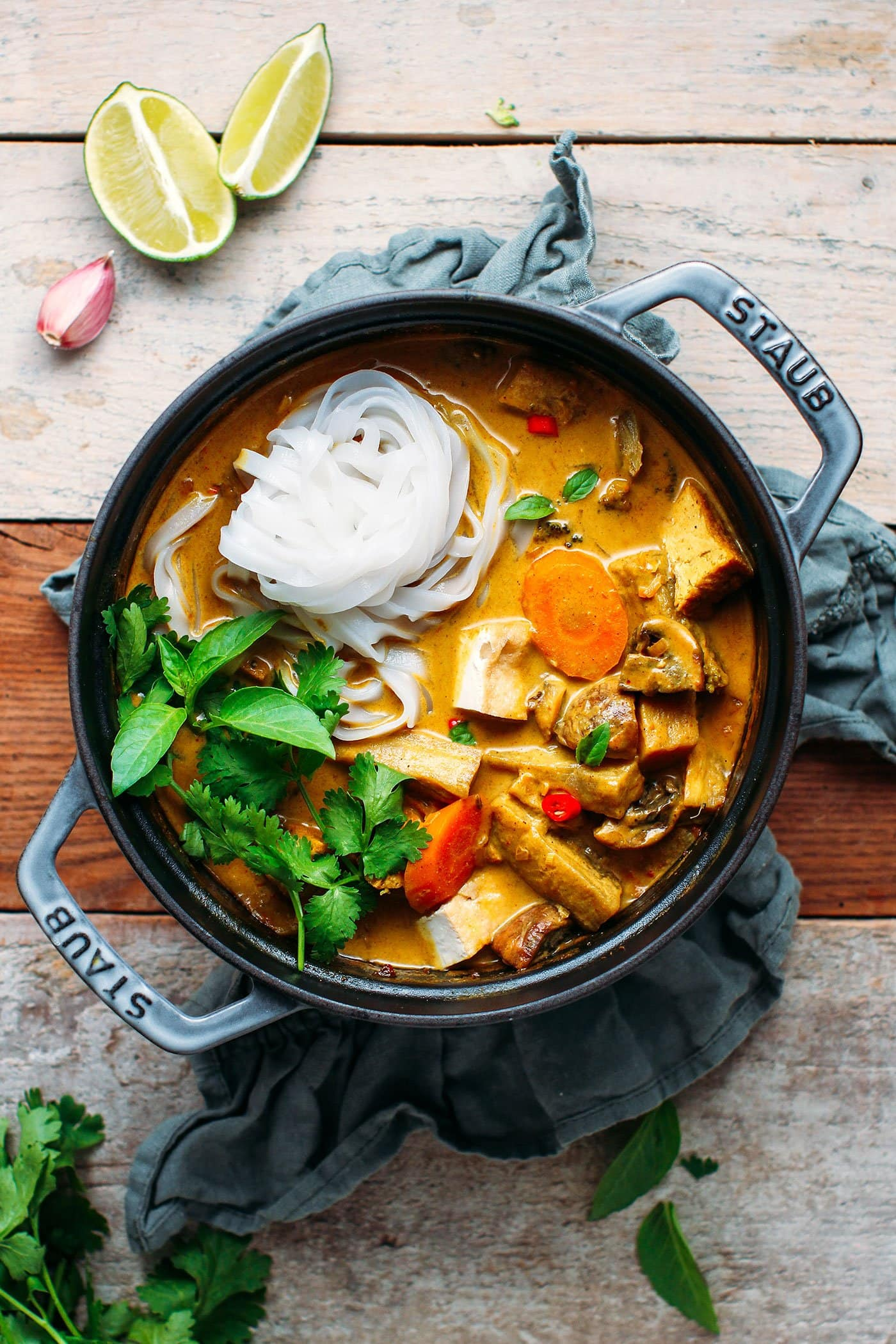 Easy Vietnamese Curry (Vegan + GF)