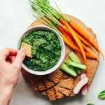 Easy Spinach & Sunflower Seed Dip