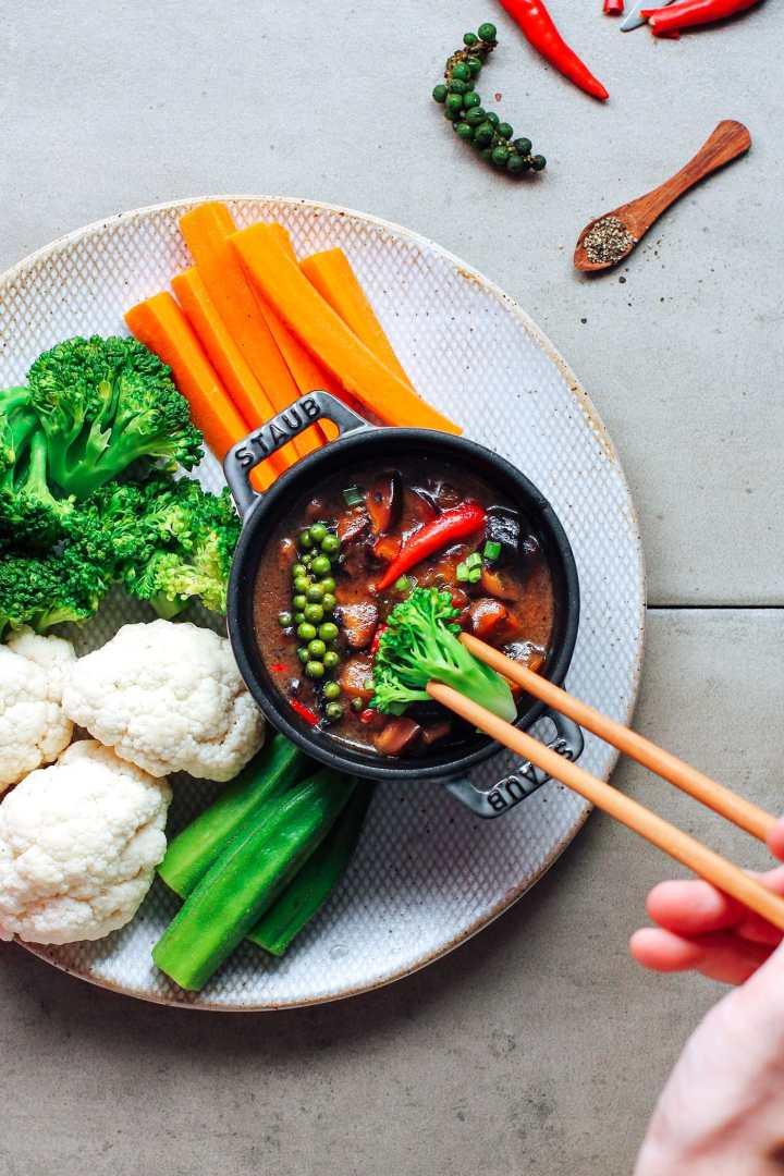"Vegan Caramelized ""Fish Sauce"" (Kho Quẹt)"