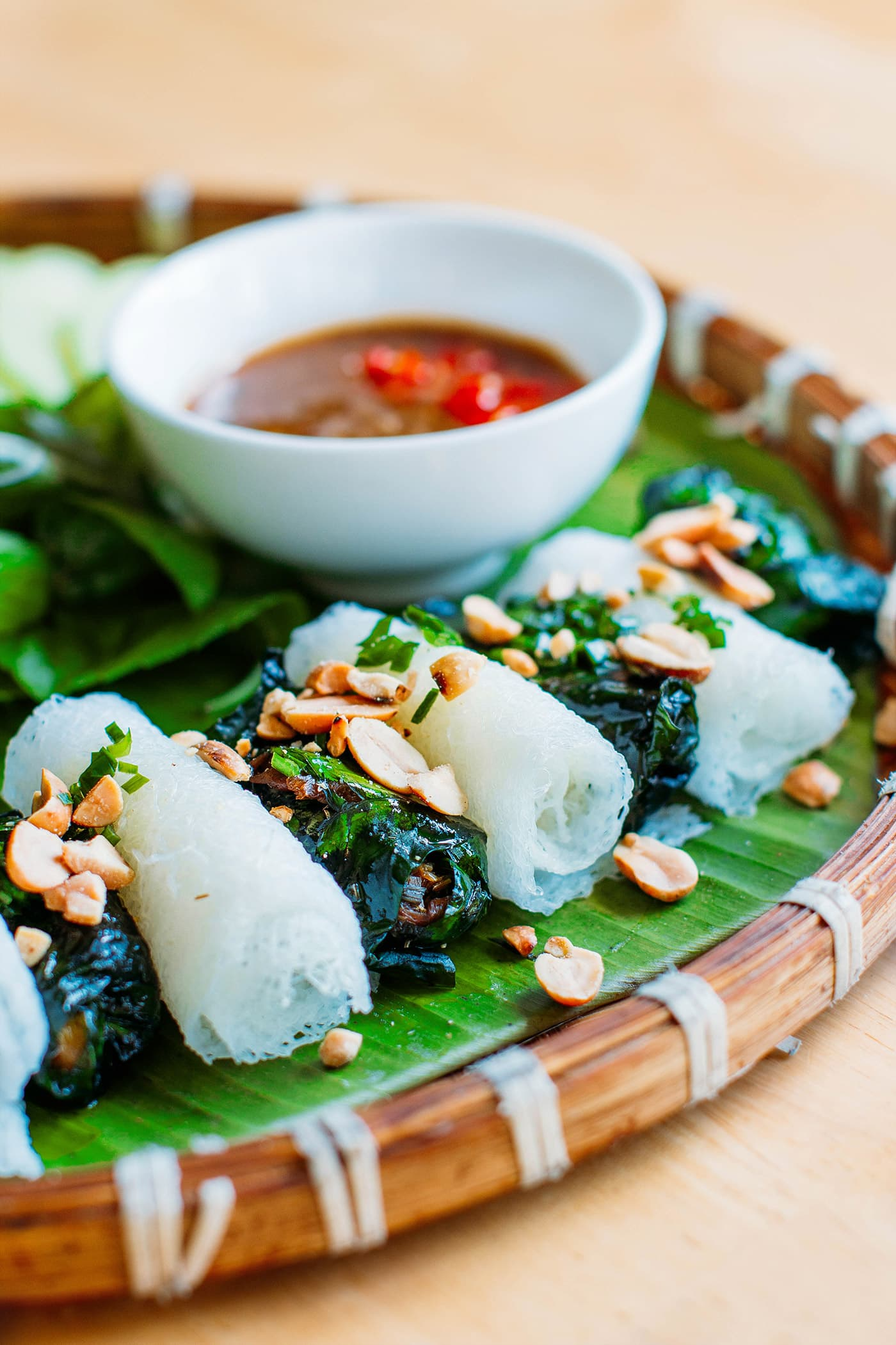A Guide to Eating Vegan in Viet Nam - Bò Lá Lốt