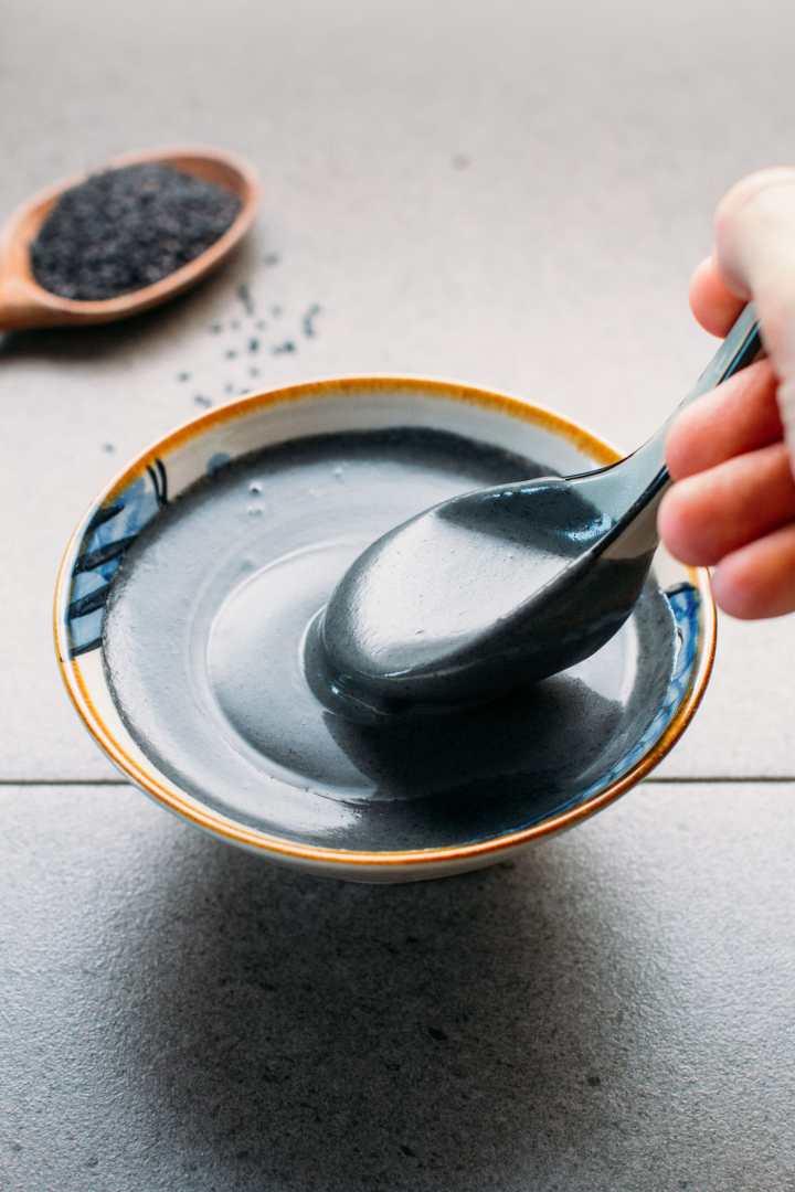 Sweet Black Sesame Soup