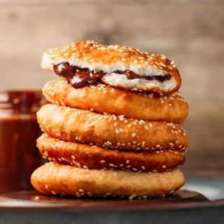 Super Tender Sesame Donuts