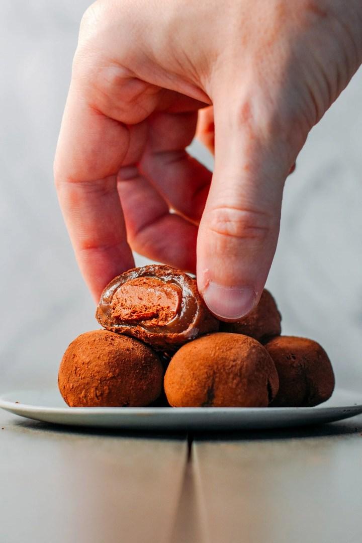 Vegan Chocolate Mochi