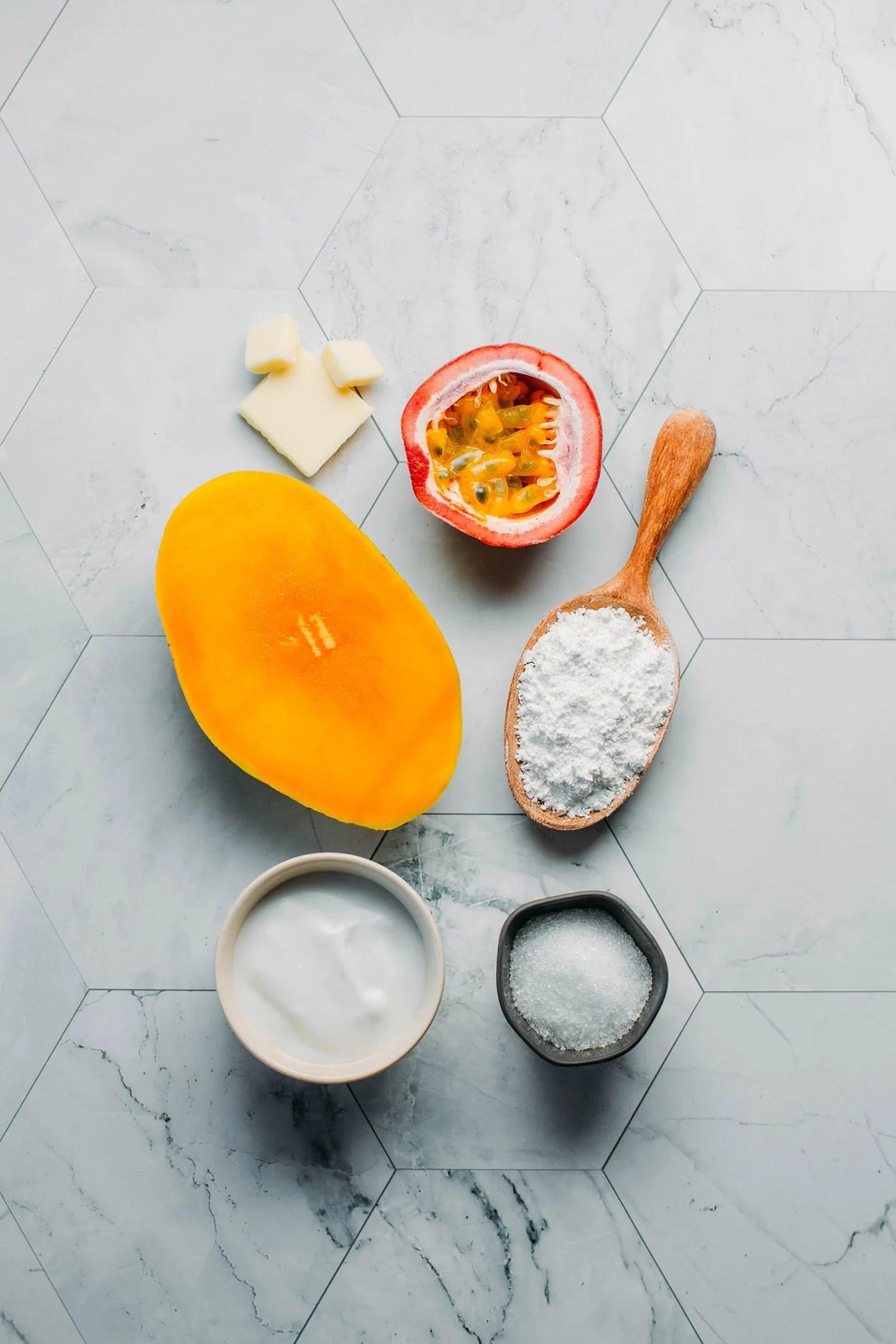 Mango & Passion Fruit Mochi