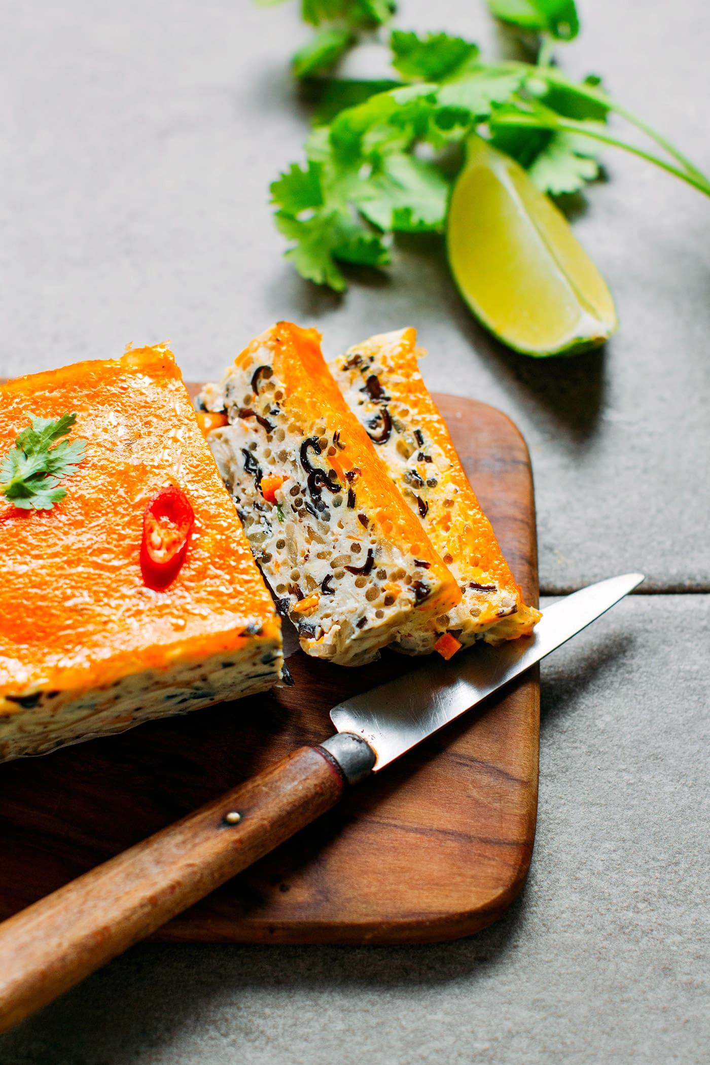 Vietnamese Tofu Loaf (Vegan + GF)