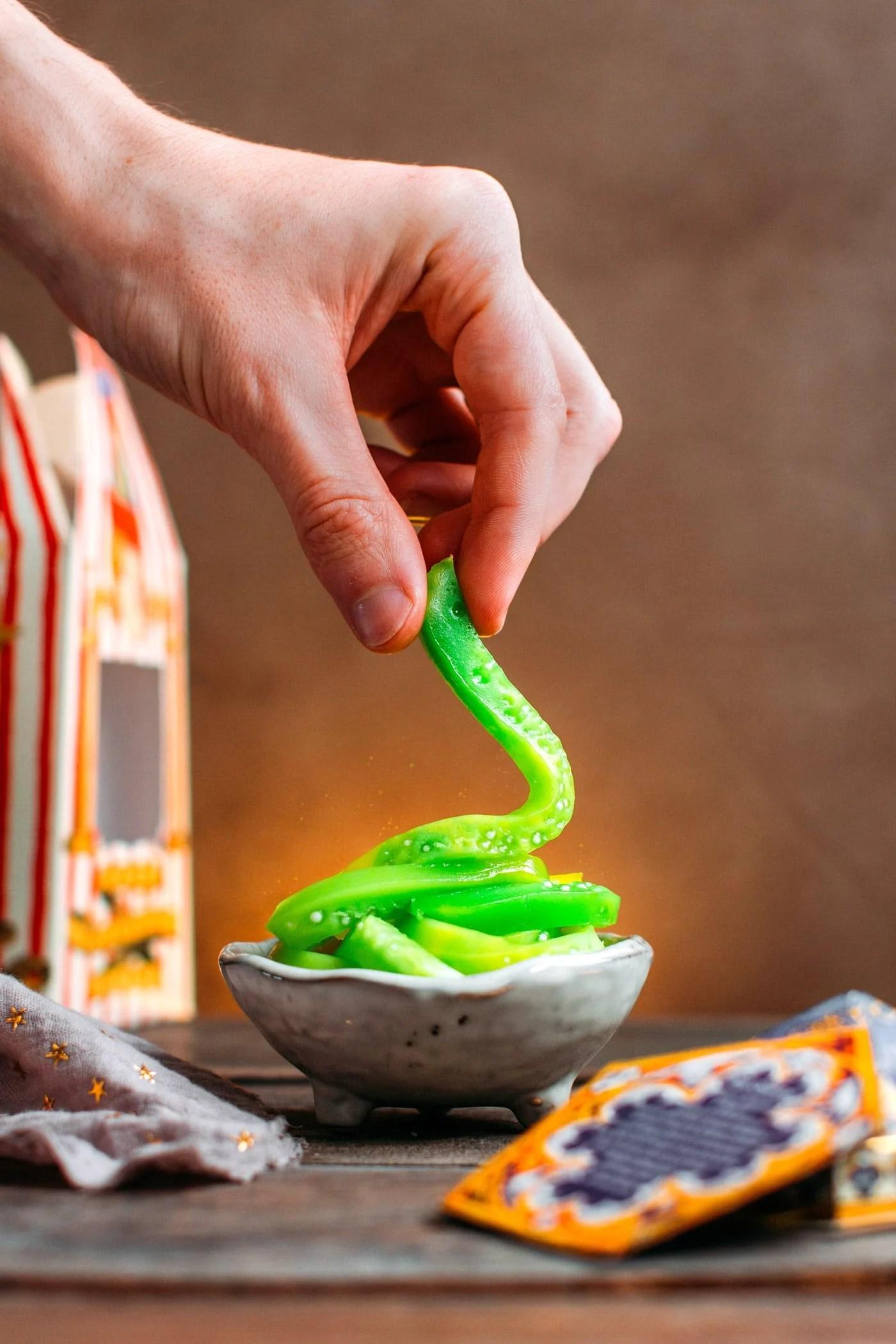 Honeydukes' Green Worms