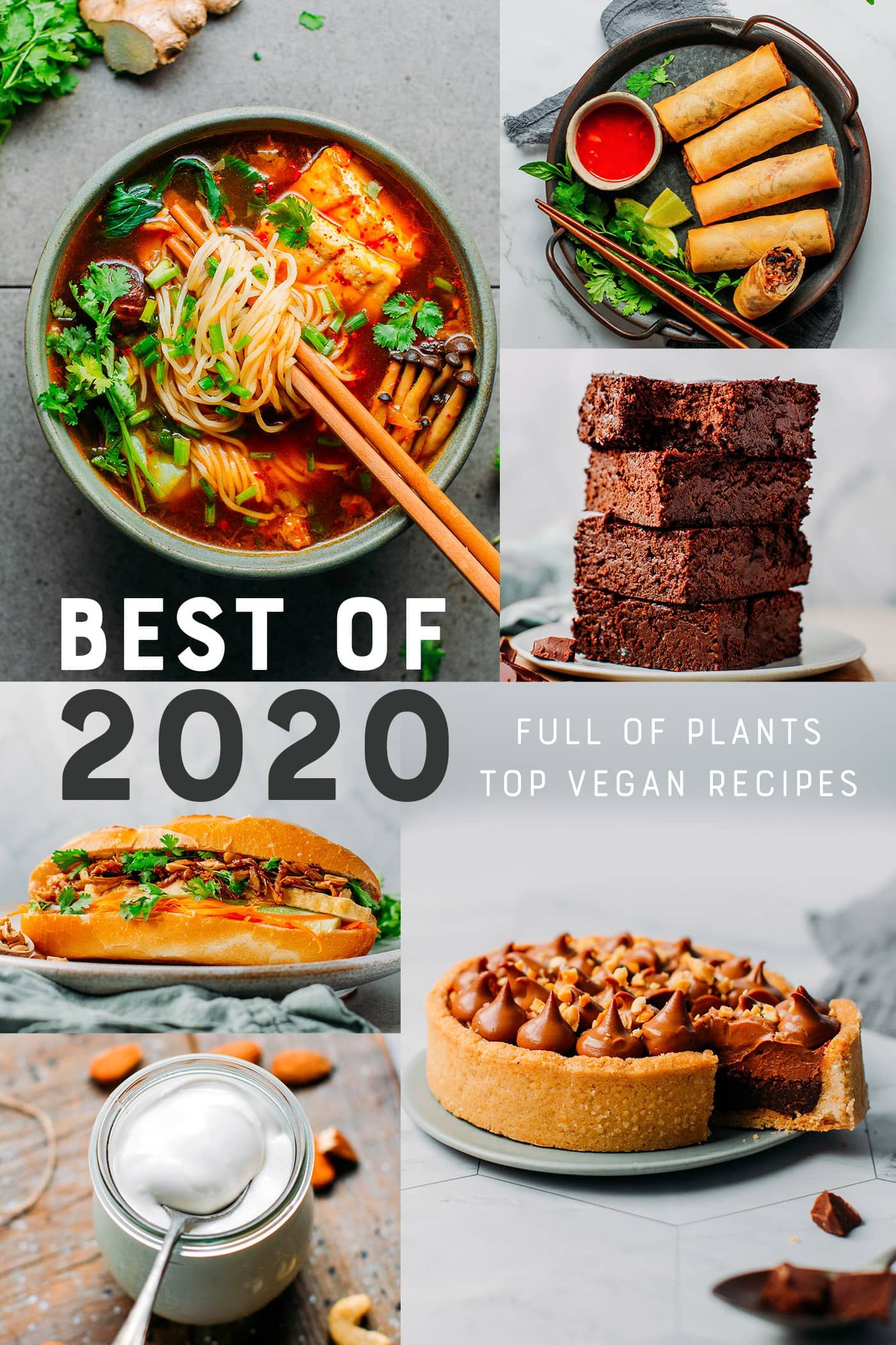Best of 2020 - Top Vegan Recipes