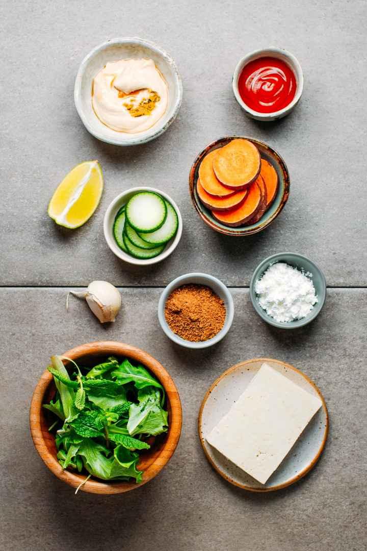 Sweet & Sour Tofu Bowls