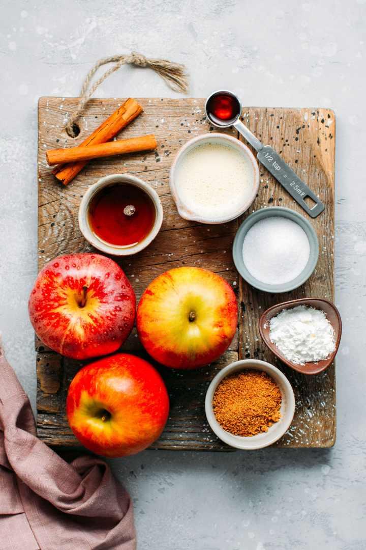 Apple Caramel Flan (Vegan / Gluten-Free)