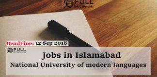 National University of modern languages Islamabad