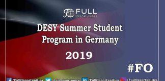 DESY Summer Student Program in Germany 2019