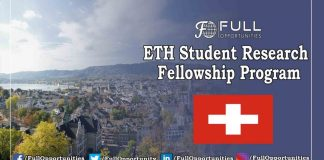 ETH Student Research Fellowship Program