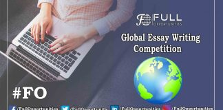 Global Essay Writing Competition 2019