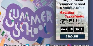 Summer School in Saudi Arabia
