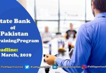 State Bank of Pakistan Officers Training Program