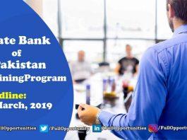 State Bank of Pakistan Officers Training Program