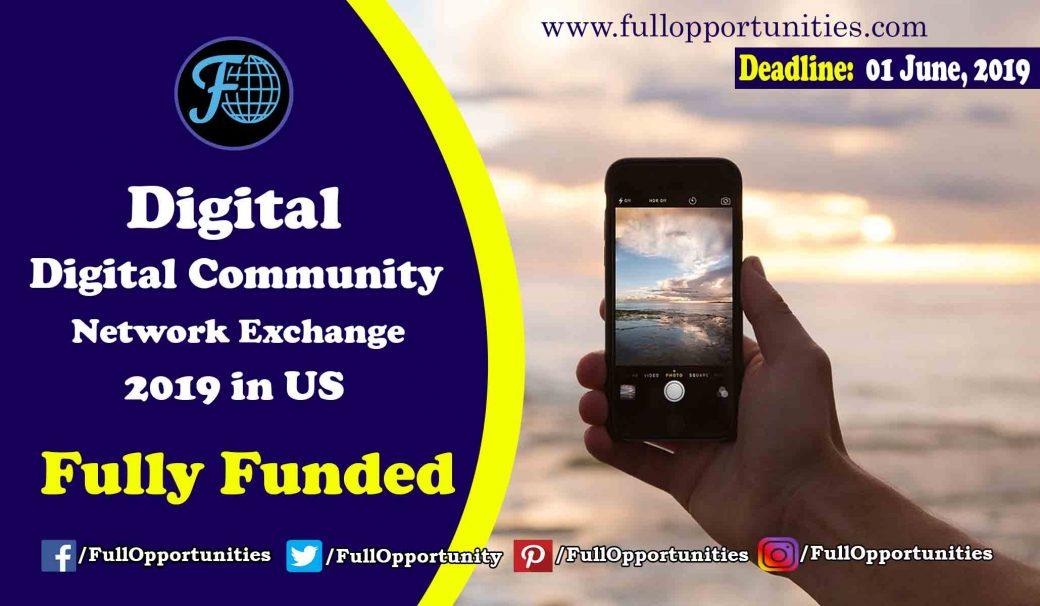 Digital Community Network Exchange Program 2019 in USA