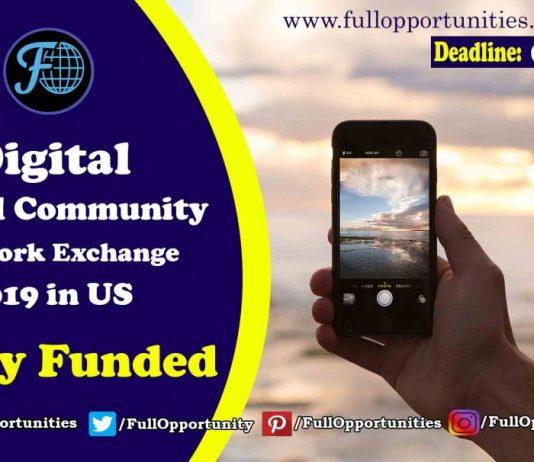 Digital Community Network Exchange Program 2019 in USA (Fully Funded)
