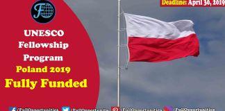Fully Funded programs in Poland: Fellowship Program 2019, Poland