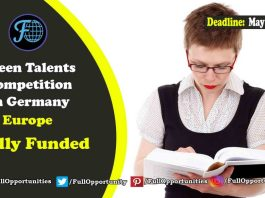 Green Talents Competition in Germany: fully funded program in germany