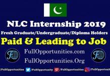 NLC Internship 2019 program