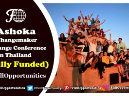 Ashoka Changemaker Xchange Conference in Thailand 2019