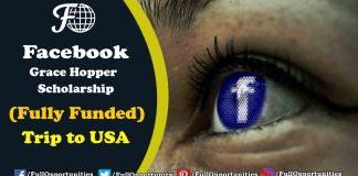 Facebook Grace Hopper Scholarship
