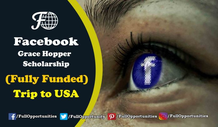 Facebook Grace Hopper Scholarship