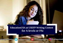 EducationUSA at USEFP Writing Contest