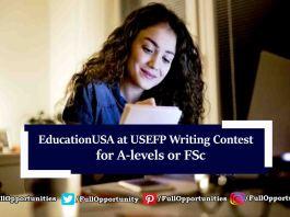 EducationUSA at USEFP Writing Contest