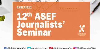 ASEF Journalists Seminar in Madrid