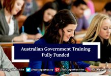 Australian Government Training 2020 - Masters & PhD (Fully Funded)