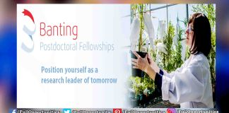 Banting Fellowship in Canada