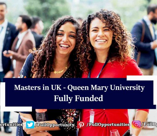 Chevening Partner award for Masters in UK 2020 Fully Funded