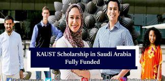 KAUST Scholarship in Saudi Arabia