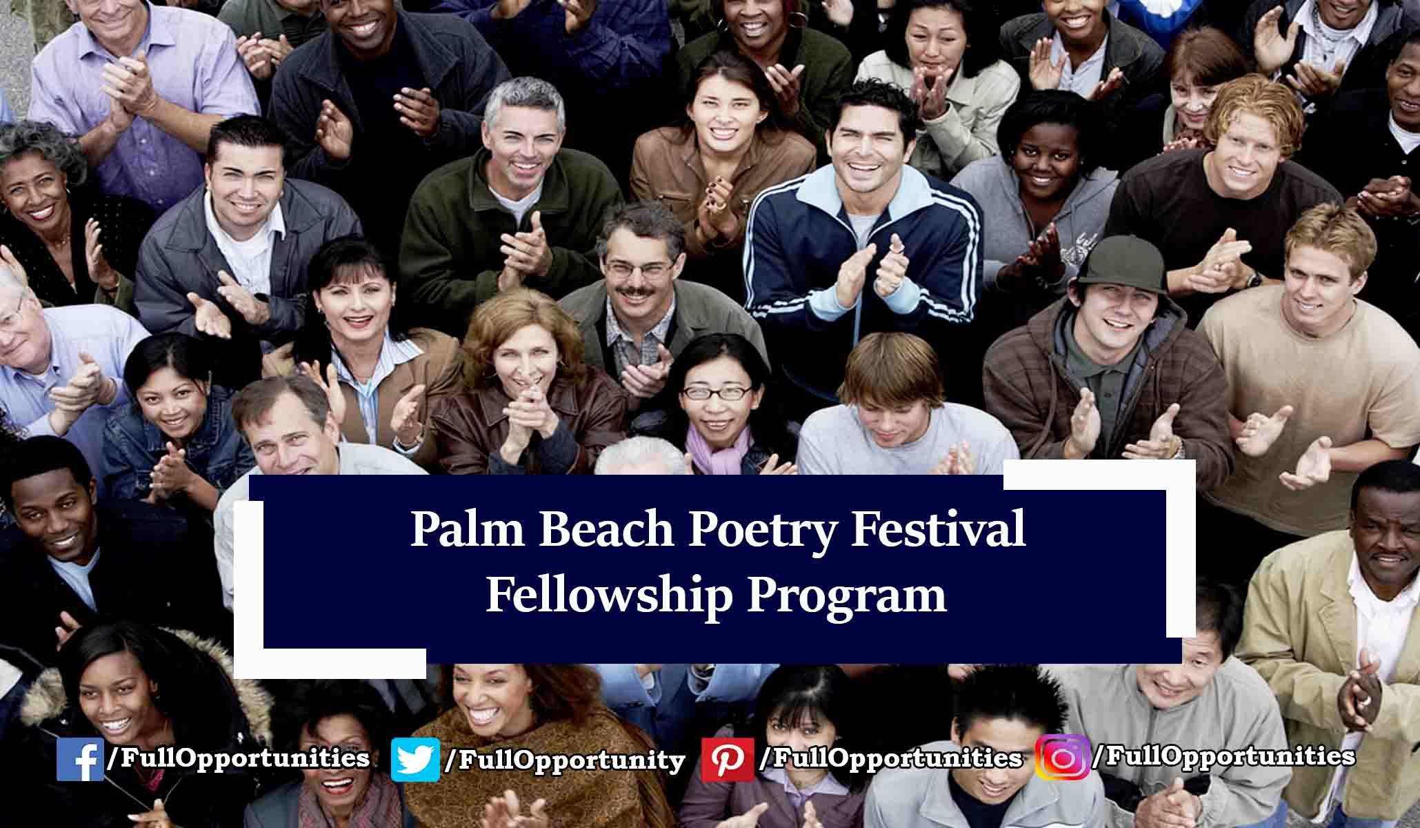 Poetry Festival 2020 Palm Beach Poetry Festival CantoMundo Fellowship 2020