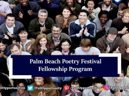 Palm Beach Poetry Festival CantoMundo Fellowship