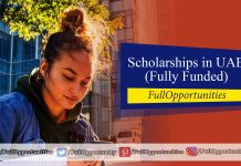 Scholarships in UAE 2020