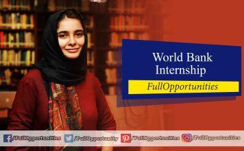 World Bank Internship