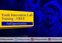 Youth Innovation Lab Training