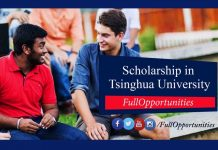 SCS Scholarship Tsinghua University China 2020 (Fully Funded)