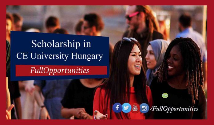 Scholarships in Central European University Hungary 2020